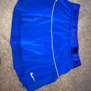 Nike double layer victory skirt blue